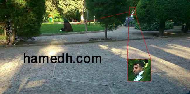 دید زدن در پارک