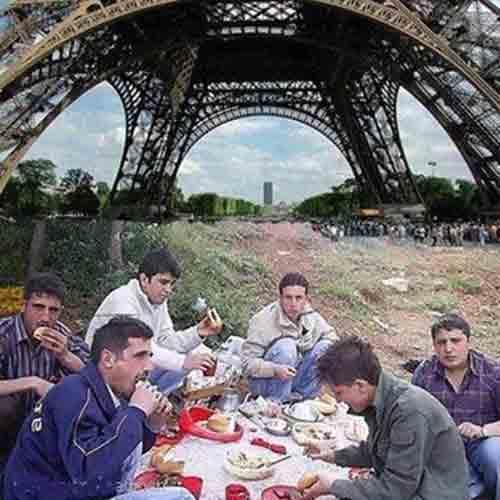 بعدازظهر در پاریس!
