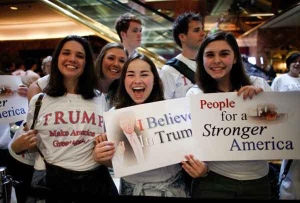 زنان حامی ترامپ